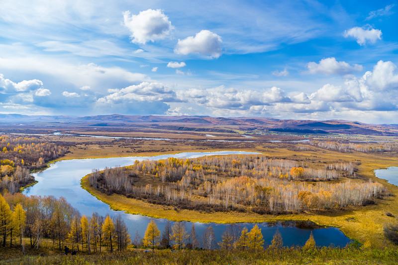 【高端·定制】内蒙古全线霸道越野车自驾深度游直飞呼伦贝尔+额尔古纳 +无人机航拍|尊享入住爱情谷星空蒙古包